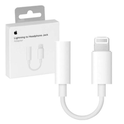 Apple Переходник (адаптер) 3,5 — lightining A1749