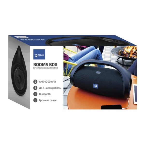 USB колонки Bluetooth Dream Booms box