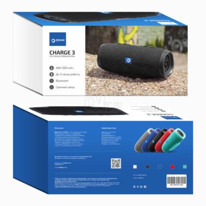USB колонка Bluetooth Dream Charge 3