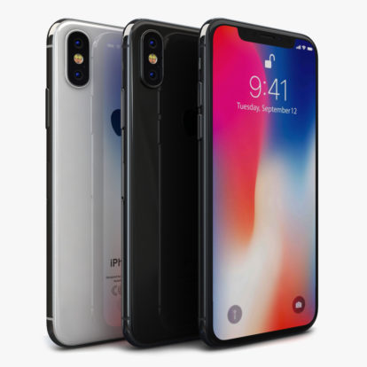 Смартфон Apple iPhone X 256Gb б/у (REF)