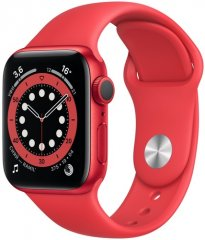 Смарт-часы Apple Watch S6 40mm PRODUCT(RED) Aluminum Case with PRODUCT(RED) Sport Bandть)