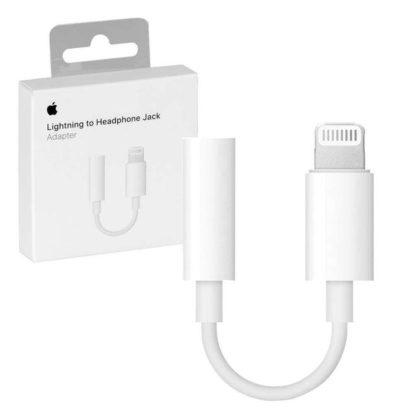 Apple Переходник (адаптер) 3,5 – lightining A1749