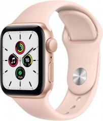 Смарт-часы Apple Watch SE 40mm Gold Aluminum Case with Pink Sand Sport Band